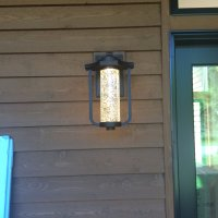 light fixture outside front door